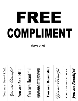 "online dating giving compliments 10 compliments men hate getting ""when giving a compliment more from dating + marriage."